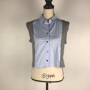 Alexander Wang Cropped Shirt Size Small